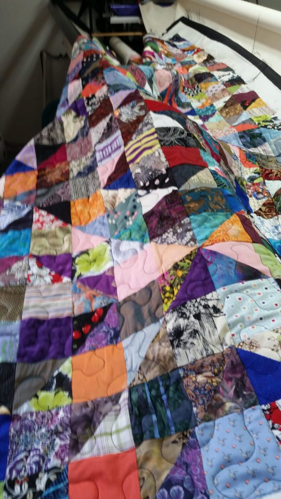 top after quilting