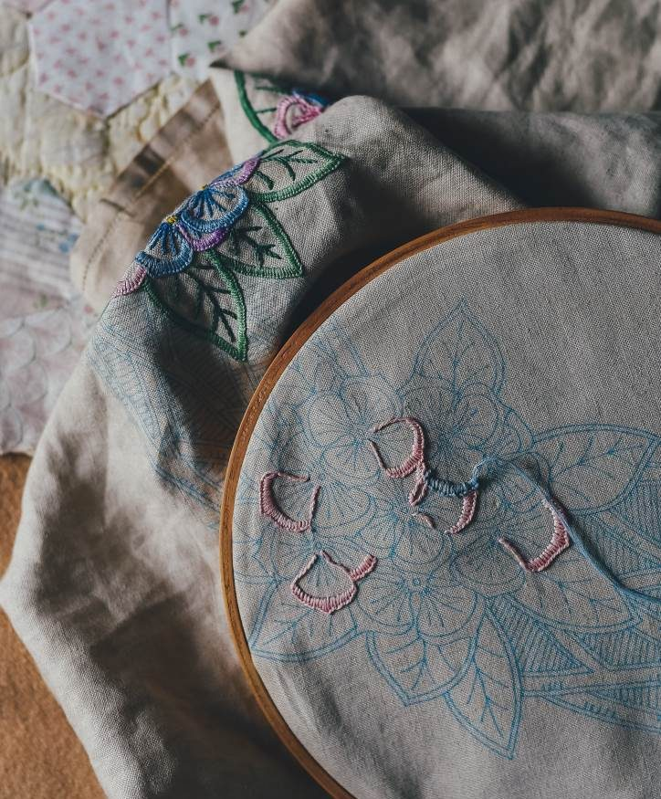 hand sewing with arthritis