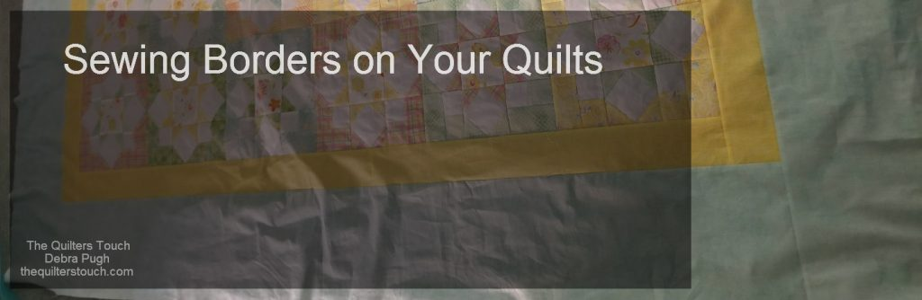 sewing borders on your quilt
