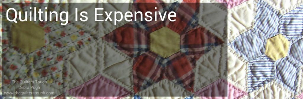 quilting is expensive