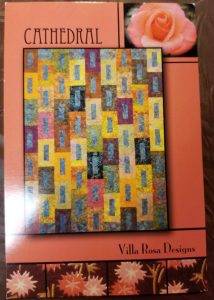 Cathedral quilt pattern by Villa Rosa Designs