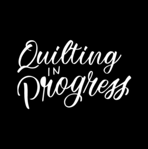 Quilting In Progress Car Decal