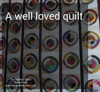 a well loved quilt